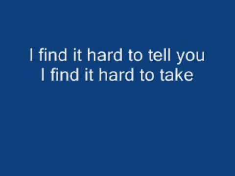 Mad World - Gary Jules (Lyrics)