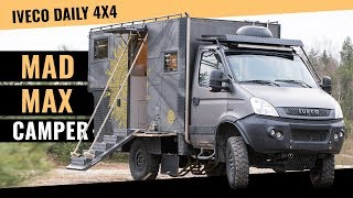 Iveco Daily 4×4 Wohnmobil in Mad-Max Optik