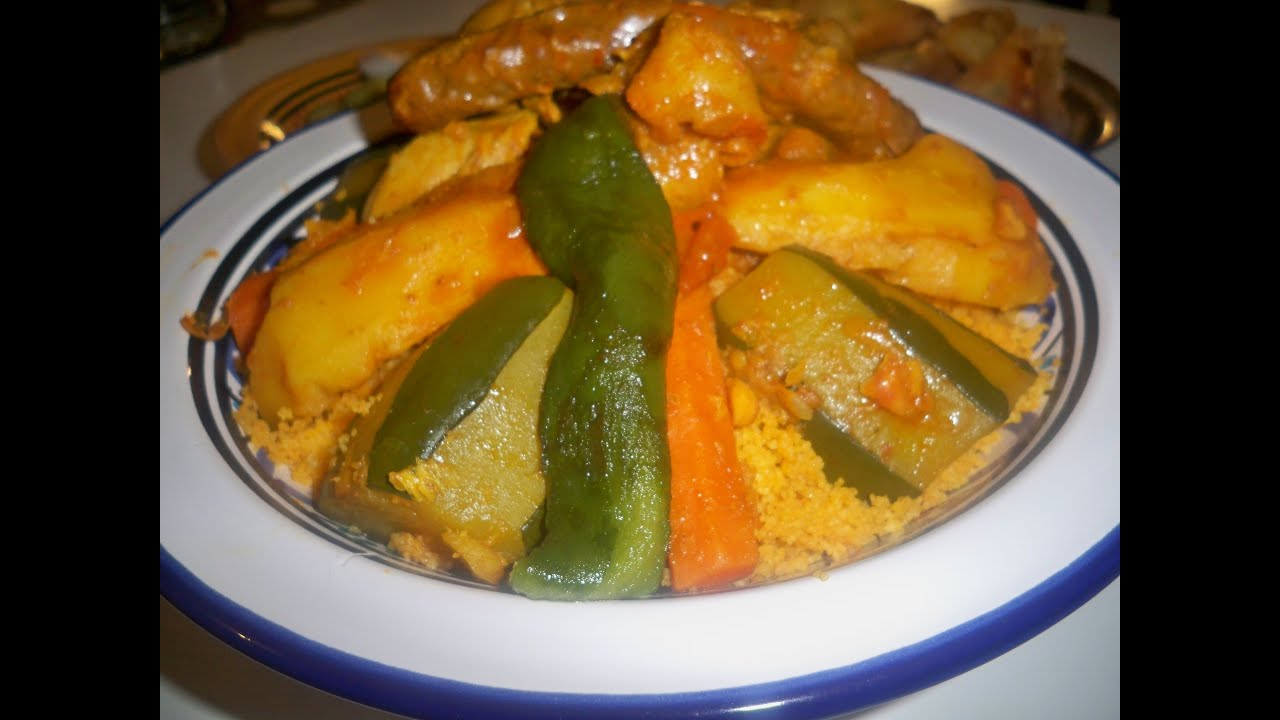 Couscous l 39 agneau cuisine tunisienne youtube for Cuisine tunisienne