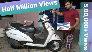 Honda Activa servicing at home!!!! || Honda Activa 3g/4g/5g