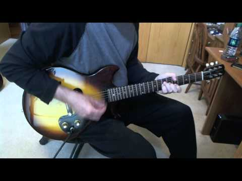Pinball Wizard Greg Papaleo Guitar Cover  1960's Epiphone Olympic Guitar