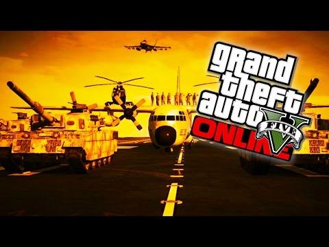 GTA 5 - Military Base Takeover!!! Fort Zancudo Invasion GTA 5 Livestream! (GTA V Gameplay)