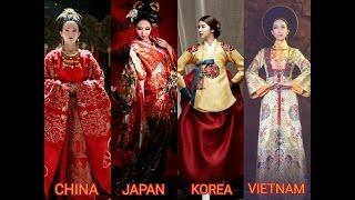 [Sinosphere] China, Japan, Korea, Vietnam Traditional Dress - Beauty Of Asia