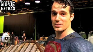 "Batman v Superman: Dawn of Justice ""Superman Stunts"" Featurette (2016)"