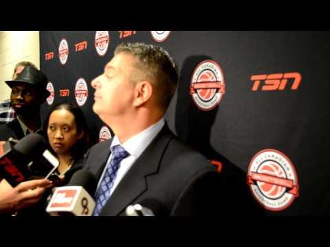 BioSteel All Canadian Showcase: Team White Paul Melnik  Post Game