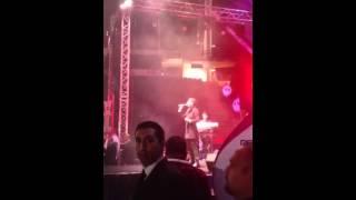 محمد عساف موال حروف الوطن - علي الكوفية حفلة 18-1-2014