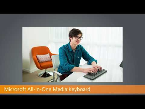 Microsoft All In One Media Keyboard : Unboxing / Impressions