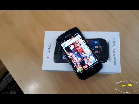 Samsung Galaxy S Blaze 4G Unboxing & first Impressions
