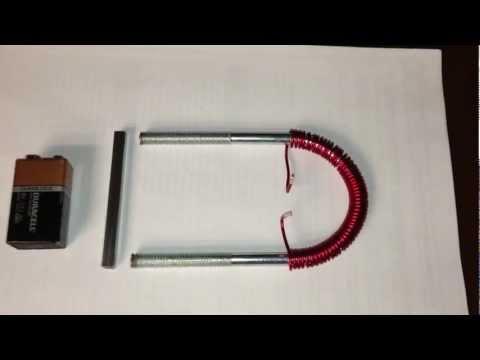 Ed Leedskalnin's Perpetual Motion Holder PMH (Testing 1 coil 1 layer)