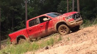 Fun in the Mud with the 2019 Ram 1500 Rebel at the Texas Off-Road Invitational