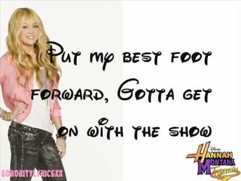 Hannah Montana Forever - Ordinary Girl Full Studio Version With Lyrics On - Screen (hq)