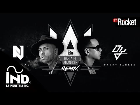 Hasta El Amanecer Remix - Nicky Jam Ft. Daddy Yankee | Video lyric