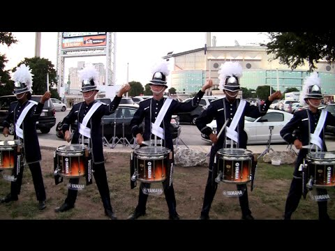 Bluecoats Drumline 2014 - Feature