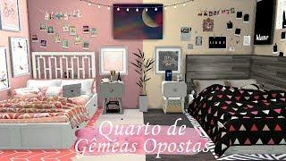 Quarto de Gêmeas Opostas!!! The Sims 4 + Download
