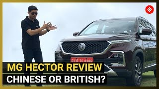 MG Hector Review: More features than the Tata Harrier, Jeep Compass