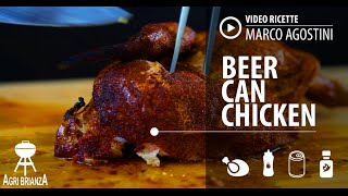 Video Ricetta Barbecue: Beer Can Chicken