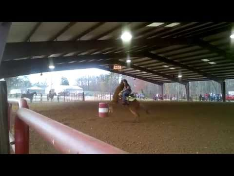Barrel Racing  Horse Gets Mad video