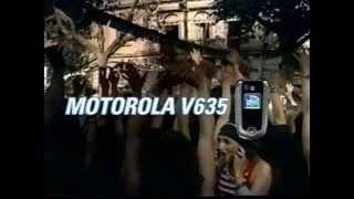 Motorola V635 Cell Phone 2005 Commercial