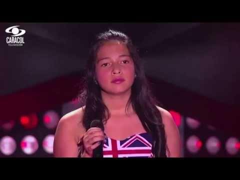 Karen Geraldine cantó 'Antología' de Shakira - LVK Colombia- Audiciones a ciegas - T1
