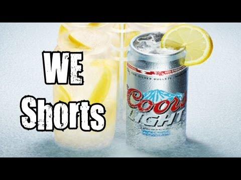 WE Shorts - Red Robin Coors Light Can-Crafted Cocktail