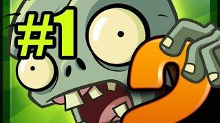 Прохождение игры растения против зомби 2 часть 1
