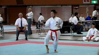 公相君大(県高校総体)JKF WKF kousoukun-Dai Karate-do Kata