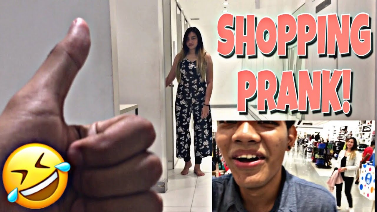 SHOPPING PRANK!