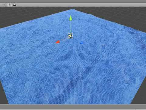 Water Effects Unity Ripple Effect Test in Unity 3d