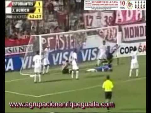 ESTUDIANTES - Juan Aurich Libertadores 2010.