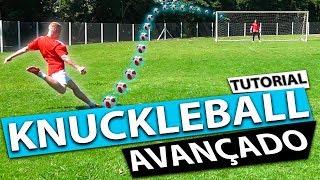 TUTORIAL KNUCKLEBALL MODO AVANÇADO COM ALEXEY GURKIN DA RÚSSIA! (Lances efetivos de futebol) {BZK}
