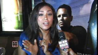Nelly Castillo Interview at End of Watch (2012) Movie Meet and Greet