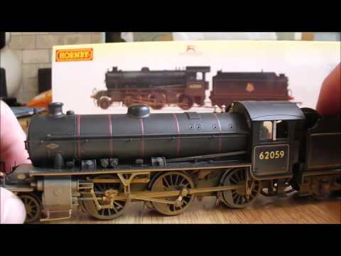 Hornby Early BR K1 62059 weathered Review
