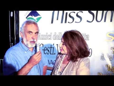 Miss Summer Salento 2013, Interviste ai principali personaggi.