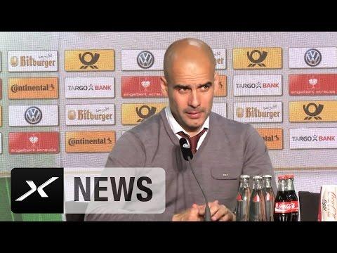Das erwartet Pep Guardiola von der Premier League | FC Bayern München - Borussia Dortmund 4:3 i.E.