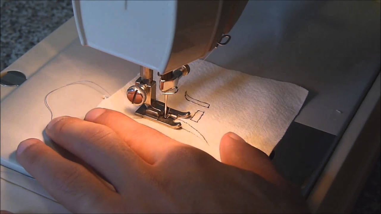 Máquina de coser. 6. Bordado. - YouTube