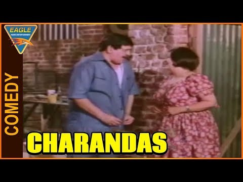Charandas Hindi Movie || Om Prakash & Manorama Funny Comedy Scene || Eagle Entertainment Official