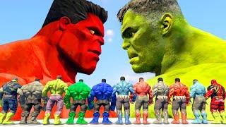 Play this video World War Hulk  Blue Hulk vs Hulk vs Red Hulk vs Grey Hulk - What If Battle Superheroes