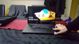 Unboxing new Dell XPS 15 9560 with Fingerprint sensor