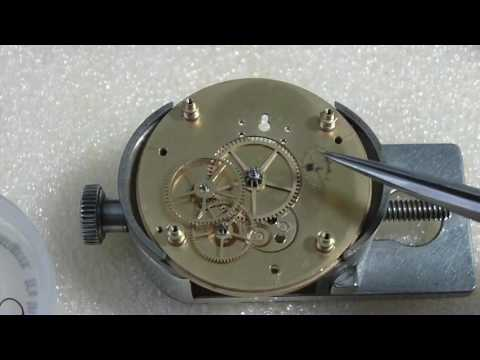 How I assemble a pocket watch, another Elgin