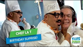 Chef La T Wishes Elvis a Happy Birthday! | Elvis Duran Exclusive