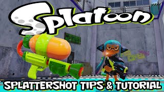 Splatoon - Splattershot - Quick Tips & Tutorial