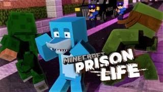 Minecraft Prison Life 2 - SHARKY GETS CAUGHT!