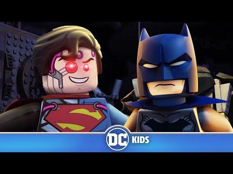 LEGO Justice League Cosmic Clash | Batman VS Brainiac Superman | DC Kids