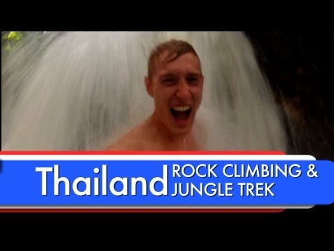 Travel Thailand - Railay & Khao Sok (rock climbing & jungle trekking)