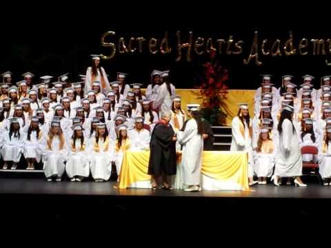Sacred Hearts Academy 2014 graduation - 05/29/2014