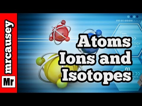 Chemistry - Atoms, Isotopes, Ions and How to Write Nuclear Symbols