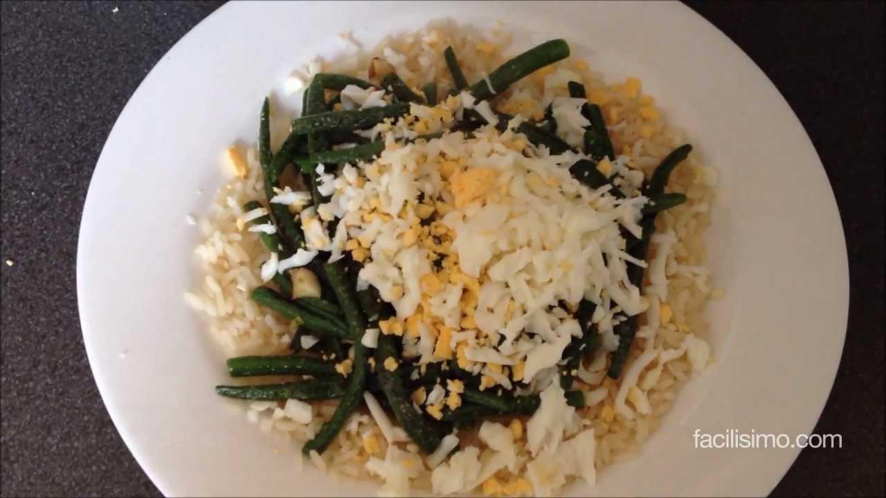 C mo hacer jud as verdes con arroz youtube - Como hacer judias verdes ...