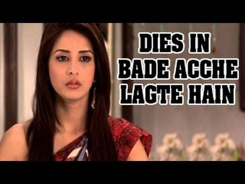 Watch Ayesha DIES in ACCIDENT in Bade Acche Lagte Hain 5th February 2013 FULL EPISODE NEWS