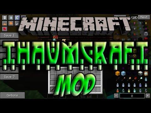 Minecraft 1.5.2 - Como Instalar THAUMCRAFT 3.0.5f MOD - ESPAÑOL [HD] 1080p