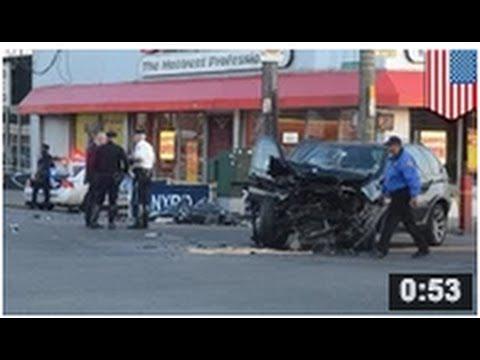 VIDEO: Décapitation dans un accident de voiture à Brooklyn